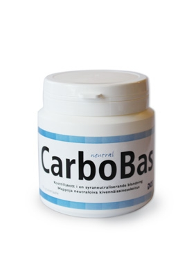 CarboBas, 150g pulver, naturell